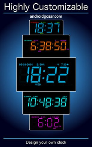 Digital Alarm Clock PRO App Android Free Download