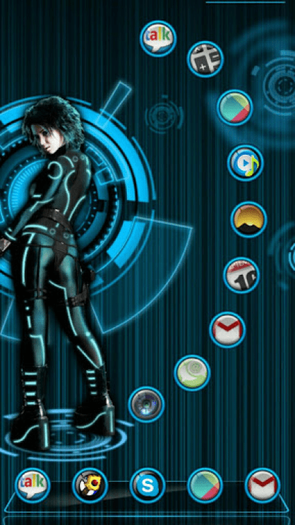 Next Launcher Theme Android Free Download