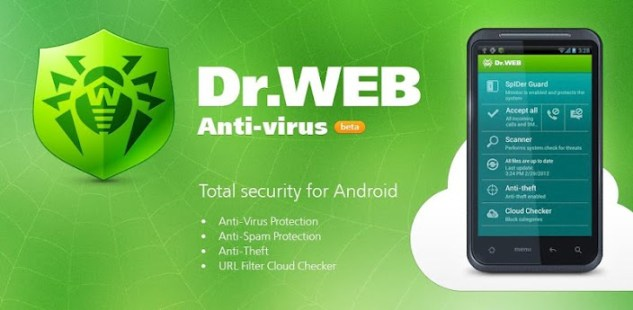 Dr Web Antivirus Life Lic App Android Free Download