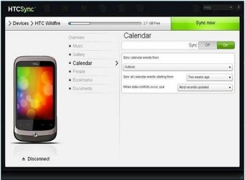 HTC Sync App Android Free Download