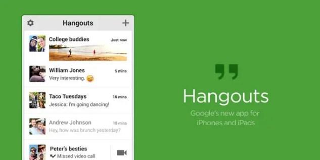 Hangouts App Ios Free Download