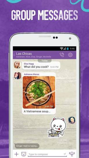 Viber Free Call And SMS App Android Free Download