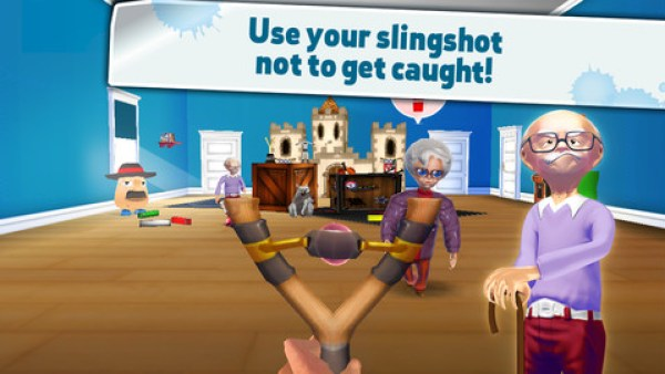 Naughty Boy Sling and shoot Ios Game Free Download