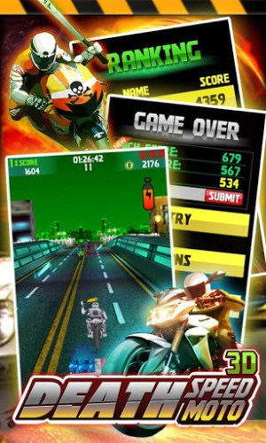 Death Speed Moto 3D Game Android Free Download