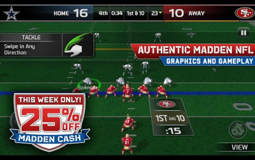 Madden Nfl 25 By Ea Sports Game Android Free Download