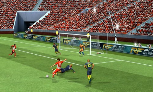 Play Football 2014 Real Soccer Game Android Free Download