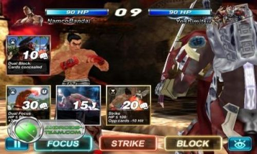 Tekken Card Tournament Game Android Free Download