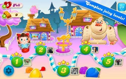 Candy Crush Soda Saga Game Android Free Download