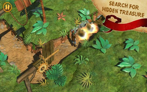Captain Sabertooth Lama Rama Game Android Free Download
