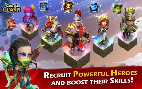 Castle Clash Age of Legends Game Android Free Download