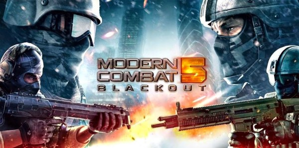 Modern Combat 5 Blackout Game Android Free Download