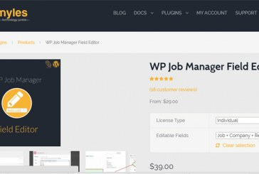 WP Job Manager Field Editor Plugin WordPress Free Download