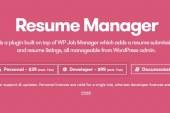 WP Job Manager Resume Manager Plugin WordPress Free Download
