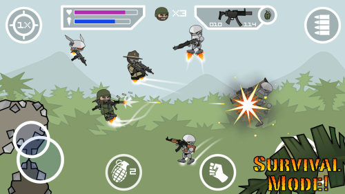 Doodle Army 2 Mini Militia Game Android Free Download