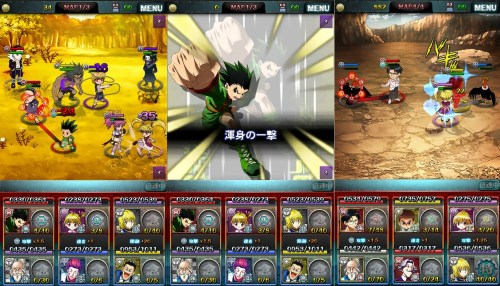 HUNTER×HUNTER Battle All Stars Game Android Free Download