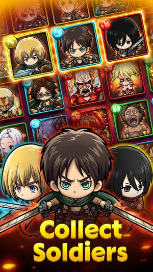 PMQ Attack on Titan Collab Game Android Free Download