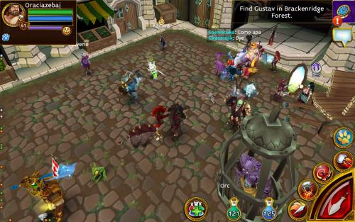 Arcane Dragons Game Android Free Download