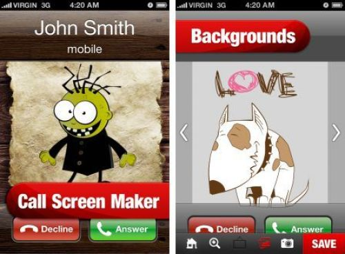 Call Screen Maker Your Best Contacts Screen Designer App IOS Free Download