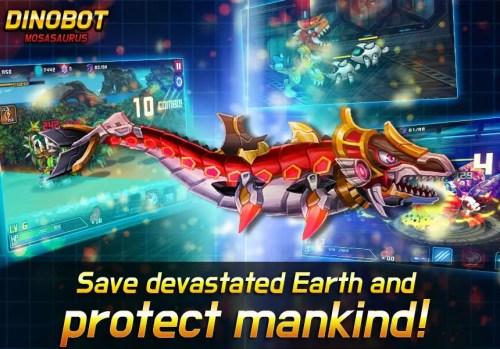 Dinobot Mosasaurus Game Android Free Download