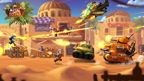 Metal Squad Game Android Free Download