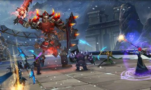 Age Of Warriors The Frozen Elantra Game Android Free Download