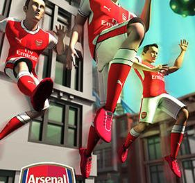 Arsenal Fc Endless Football Game Android Free Download