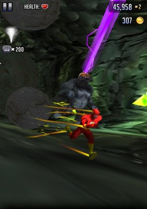 Batman and The Flash Hero Run Game Android Free Download