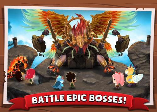 Battle Camp Evolve Monsters Game Android Free Download
