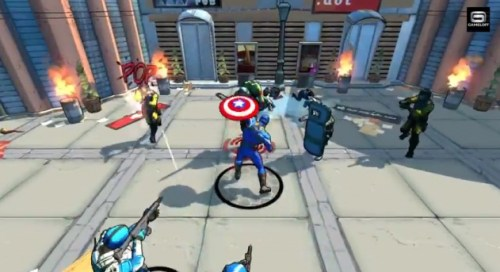 Captain America Game Ios Free Download