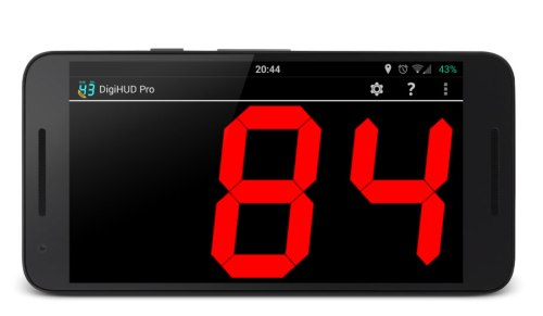 DigiHUD Pro Speedometer App Android Free Download