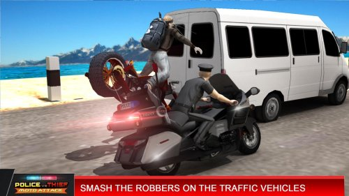Police Vs Thief Moto Attack Game Android Free Download