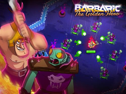 Barbaric The Golden Hero Game Android Free Download