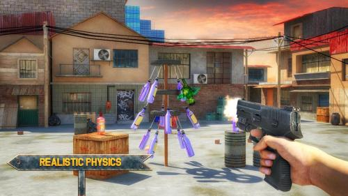 Bottle Shoot 3D Game Expert Game Android Free Download