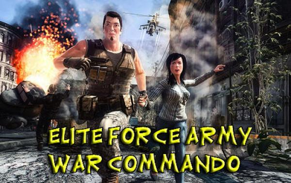 Elite Force Army War Commando Game Android Free Download