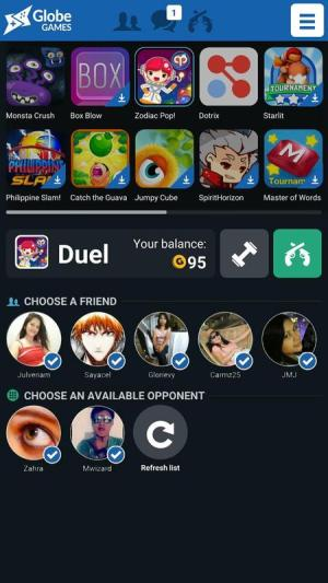 Globe Games with Friends App Android Free Download