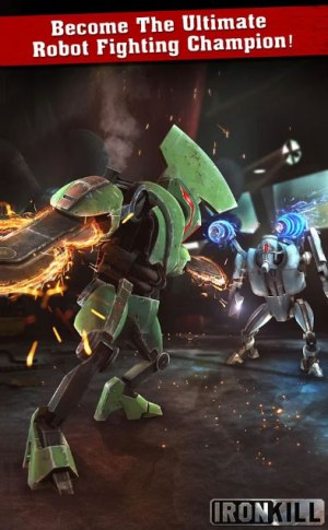 Iron Kill Robots vs Robots Game Android Free Download