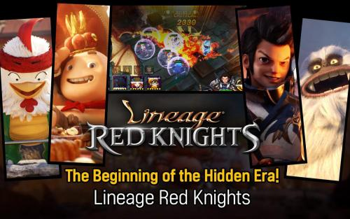 Lineage Red Knights Game Android Free Download