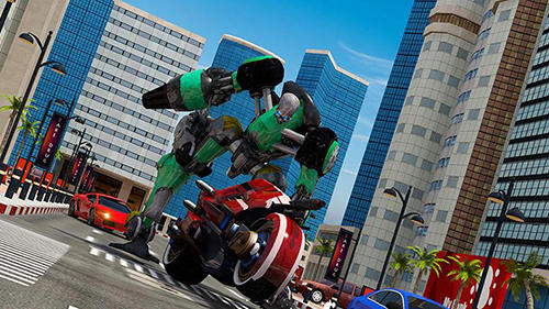 Moto Robot Transformation Game Android Free Download