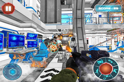 Robots War Space Clash Mission Game Android Free Download