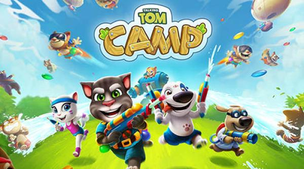 Talking Tom Camp Game Android Free Download