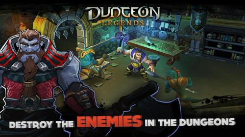 Dungeon Legends Skeleton King Game Android Free Download