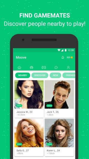 Moove Chat Play Meet App Android Free Download