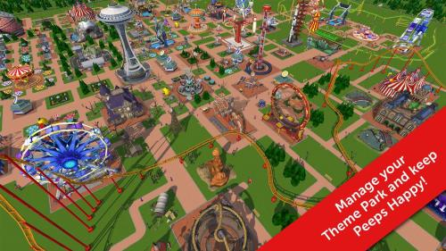 RollerCoaster Tycoon Touch Game Android Free Download