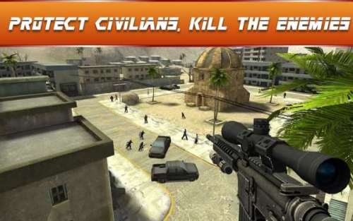Sniper Ops 3D Shooter Game Android Free Download