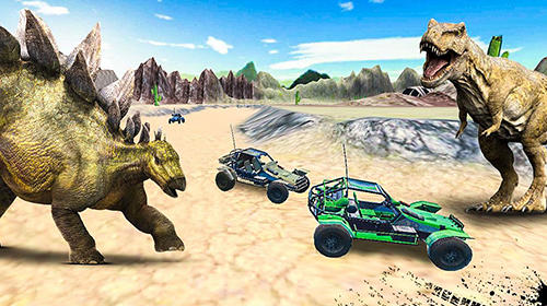 Dino World Car Racing Game Android Free Download