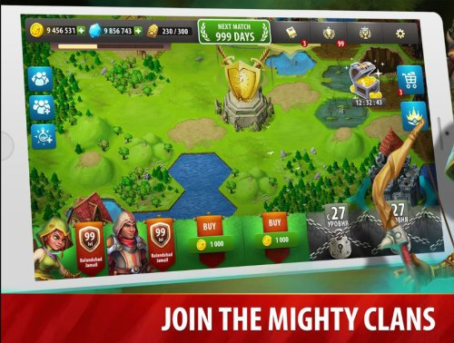 Hero Rush: Clan Wars Game Android Free Download