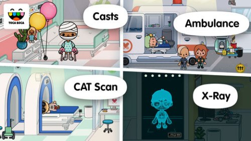 Toca life: Hospital Game Ios Free Download