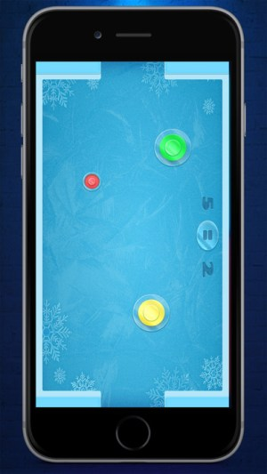 Air Hockey NEON - Ice hockey Game Ios Free Download
