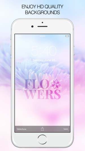 Beautiful Flower Wallpapers Pictures App Ios Free Download