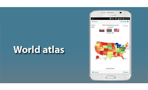 World Atlas & map MxGeo Pro App Android Free Download